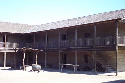 Petaluma Adobe Courtyard